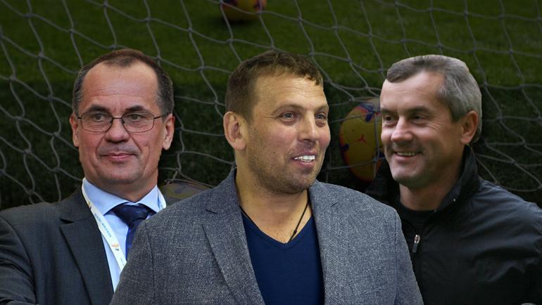 """Николай Левников, Александр Егоров и Сергей Фурса (слева направо). Фото """"СЭ"""""""