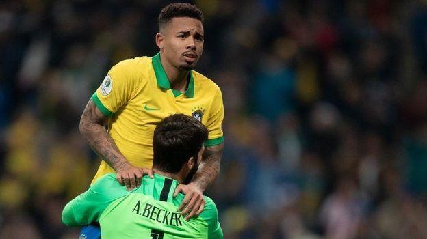 Кубок Америки, Бразилия - Парагвай - 0:0, серия пенальти, обзор матча