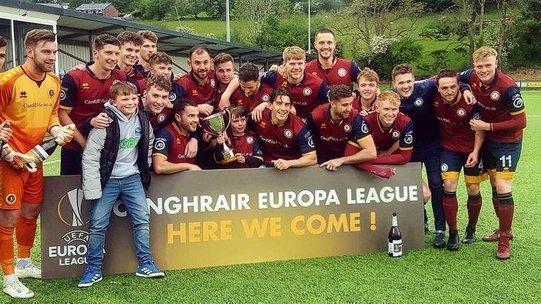 Команда из валлийского университета дебютировала в Лиге Европы. Фото instagram.com