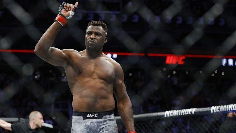 Фрэнисис Нганну. Фото MMA Fighting