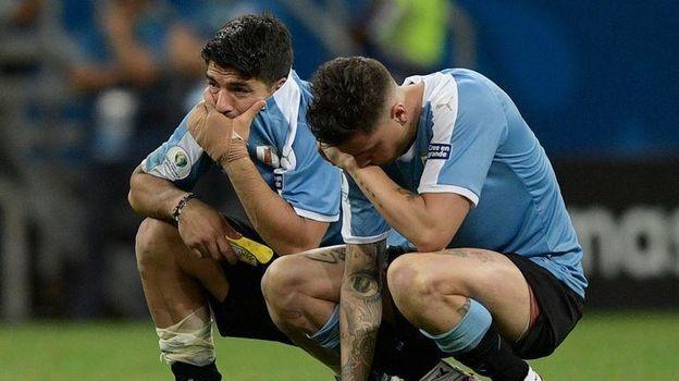 Уругвай – Перу – 0:0, пенальти – 4:5. Кубок Америки, четвертьфинал. Суарес отдал полуфинал Перу