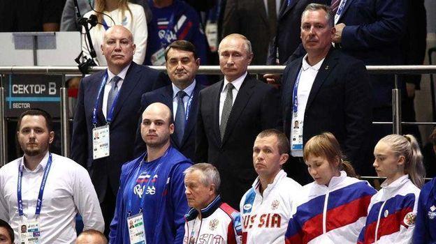 Сотая медаль на глазах у Президента. Как Россия выиграла Европейские игры