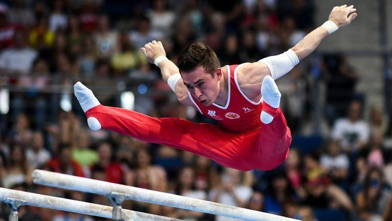Российский гимнаст Давид Белявский. Фото AFP