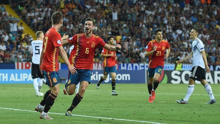 30 июня. Удине. Испания - Германия - 2:1. Испанцы - чемпионы Европы. Фото УЕФА
