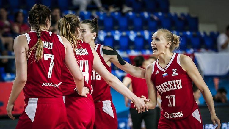 30 июня. Белоруссия - Россия - 62:76. Россиянки смогли выйти в плей-офф благодаря этой победе. Фото FIBA