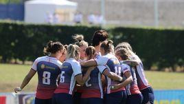 Женская сборная России по регби.