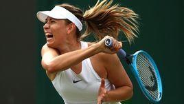 2 июня. Лондон. Мария Шарапова проиграла Полин Пармантье и вылетела в первом раунде Уимблдона.