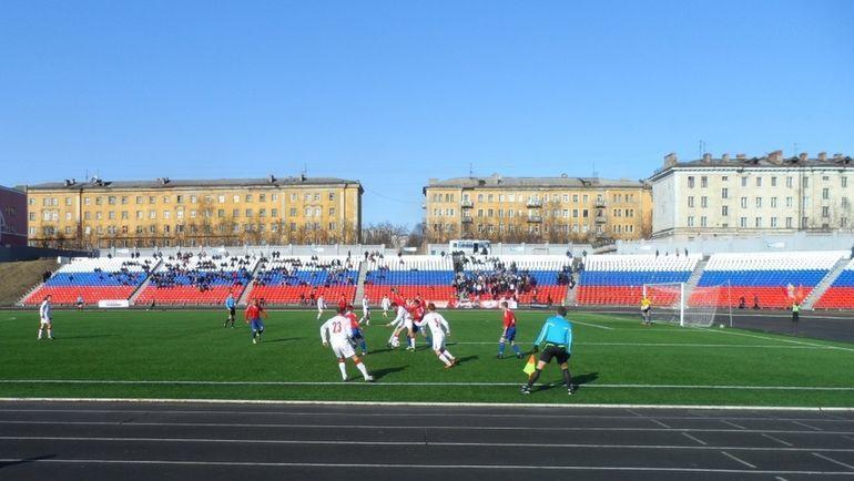 Центральный стадион в Мурманске. Фото centralstadion.ru