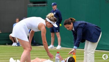 Падение, травма. Гаспарян не доиграла матч со Свитолиной