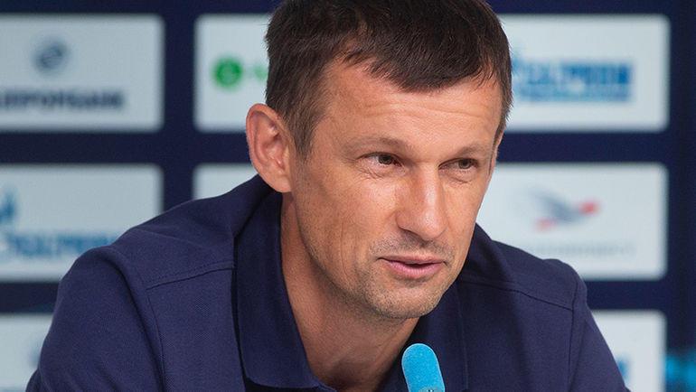 Семак прокомментировал перспективы Джорджевича в«Зените»
