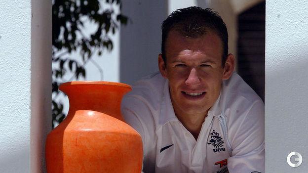 2004 год. Арьен Роббен. Фото REUTERS
