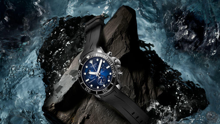 Новые Tissot Seastar 1000 Quartz Chrono.