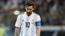 6 июля. Сан-Паулу. Аргентина - Чили - 2:1. Лионель Месси после удаления.