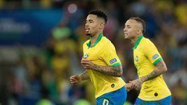 7 июля. Рио-де-Жанейро. Бразилия – Перу – 3:1. Габриэл Жезус: пас, гол и удаление.