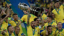 Бразилия - победитель Кубка Америки!