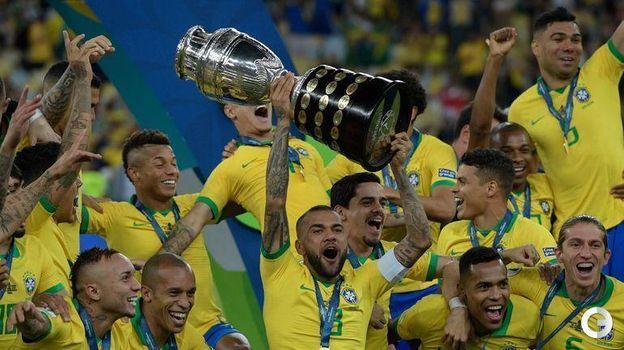 7 июля. Рио-де-Жанейро. Бразилия – Перу – 3:1. Фото AFP