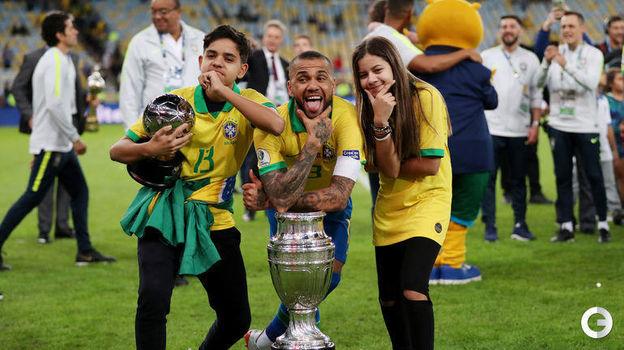 7 июля. Рио-де-Жанейро. Бразилия – Перу – 3:1. Фото Reuters