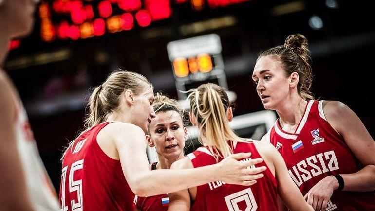 Женская сборная России стала восьмой на Евробаскете. Фото FIBA