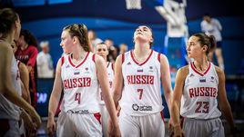 Евробаскет для Раисы Мусиной, Марии Вадеевой и Юлии Гладковой (слева направо) не задался с самого начала.