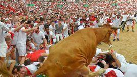 На рога! Самый страшный забег с быками