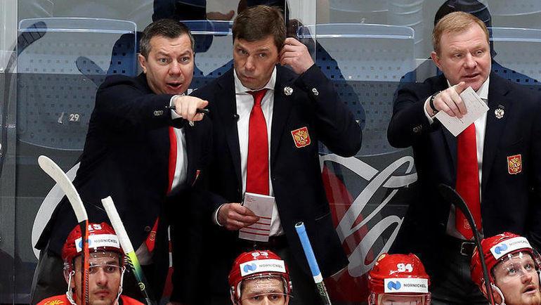 Илья Воробьев (слева) и Алексей Кудашов. Фото ФХР