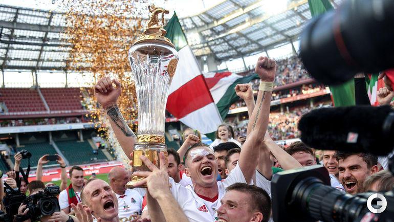 Как менялись кубки российских футбольных турниров.