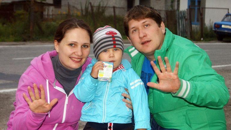 Елена Томилова с семьей. Фото из личного архива