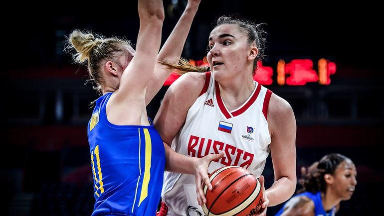 Мария Вадеева (справа). Фото FIBA