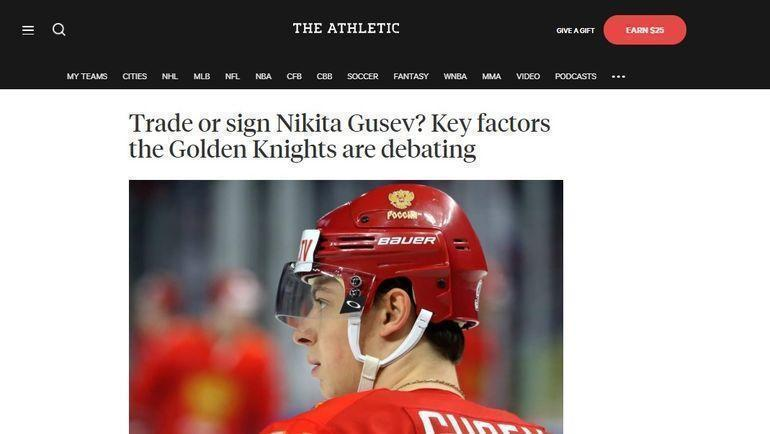 The Athletic.