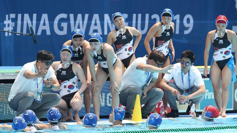 Женская сборная Кореи: это фиаско. Фото AFP