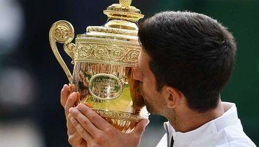 Фантастический финал. Джокович победил Федерера - и съел траву