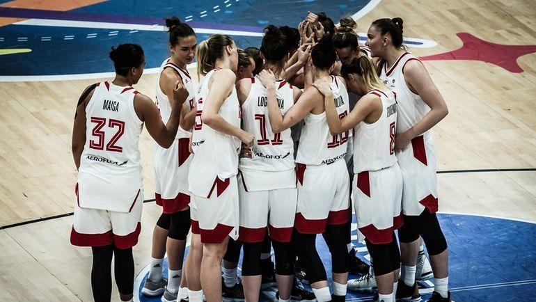 Женская сборная России не сыграет на Олимпиаде-2020. Фото fiba.basketball
