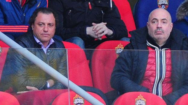 Михаил Грушевский (справа, с Роланом Гусевым). Фото Александр Федоров, «СЭ»