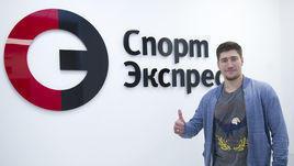 """Илья Любушкин в редакции """"СЭ""""."""