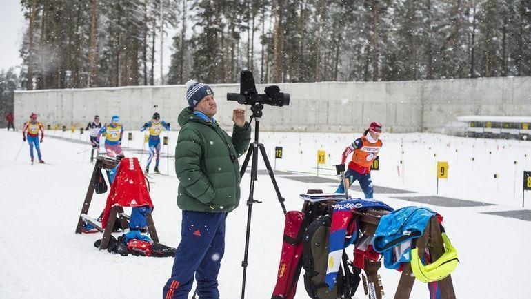 Сергей Богданов. Фото СБР, biathlonrus.com