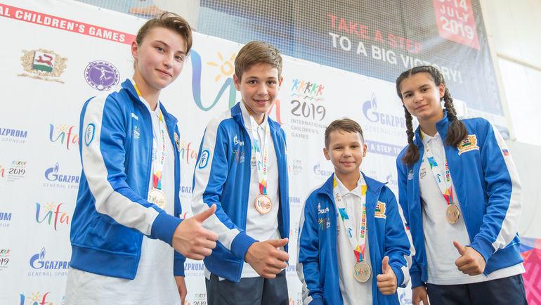 Возможно, будущие олимпионики.