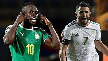 Мане против Махреза в финале Кубка Африки
