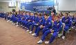 Олимпийскую команду России проводили в Баку