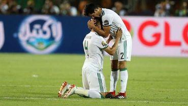 19 июля. Каир. Сенегал – Алжир – 0:1. Радость алжирцев.