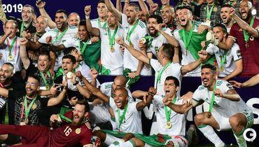 Алжир - лучшая команда Африки!