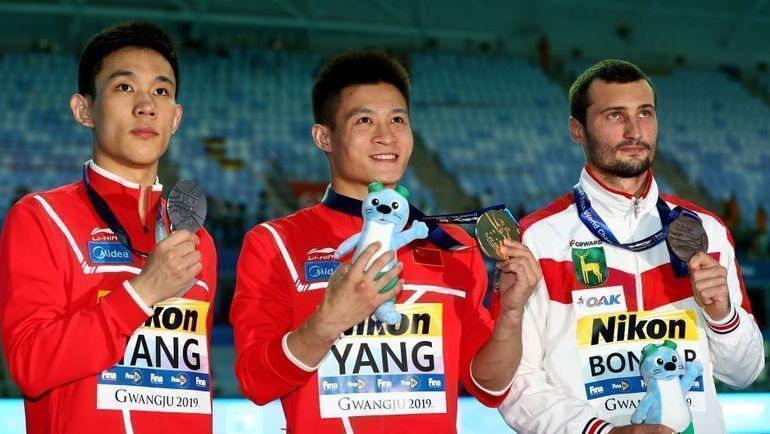 Китайские спортсмены доминируют в соревнованиях по прыжкам в воду.