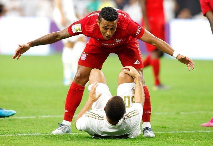 «Реал» проиграл «Баварии» вматче интернационального кубка чемпионов