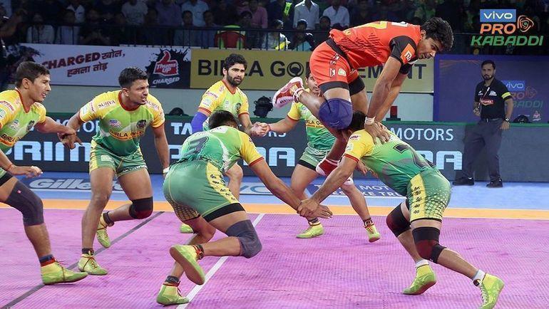 Игроки в каббади. Фото instagram.com/prokabaddi/