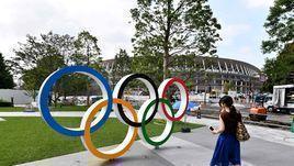 Олимпийская стадион в Токио.