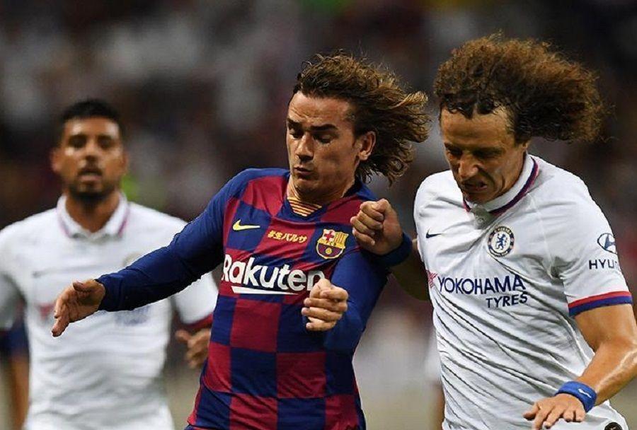 "Дебют Гризманна получился тусклым. ""Барселона"" проиграла ""Челси"""