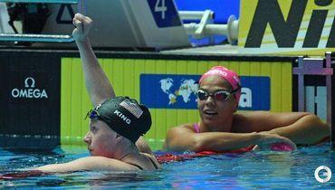 Ефимова уступила Кинг. Американка давила на нее до старта и смеялась после финиша