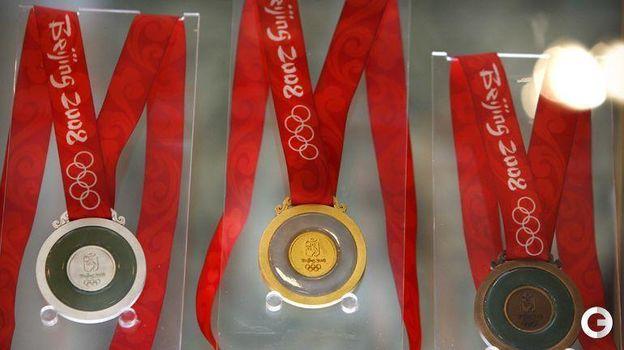 Медали Олимпийских игр-2008 в Пекине. Фото REUTERS