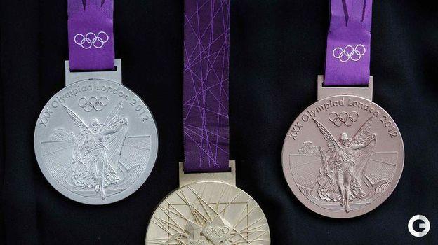 Медали Олимпийских игр-2012 в Лондоне. Фото REUTERS