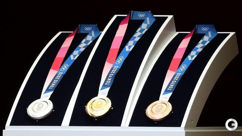 Медали Олимпийских игр-2020 в Токио.