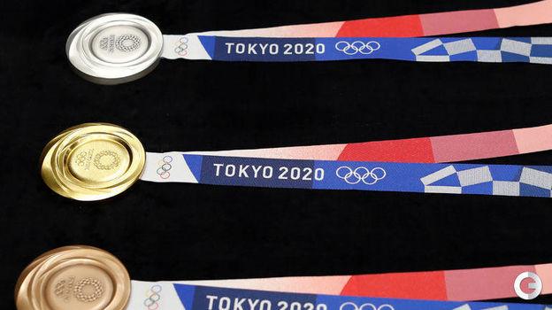Медали Олимпийских игр-2020 в Токио. Фото REUTERS